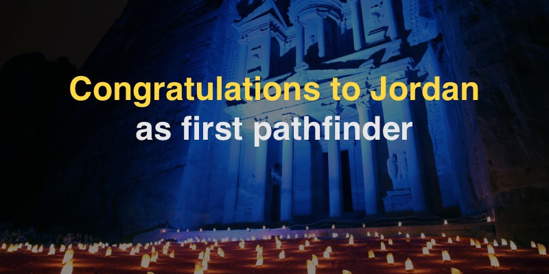 Contratulations to Jordan as first pathfinder